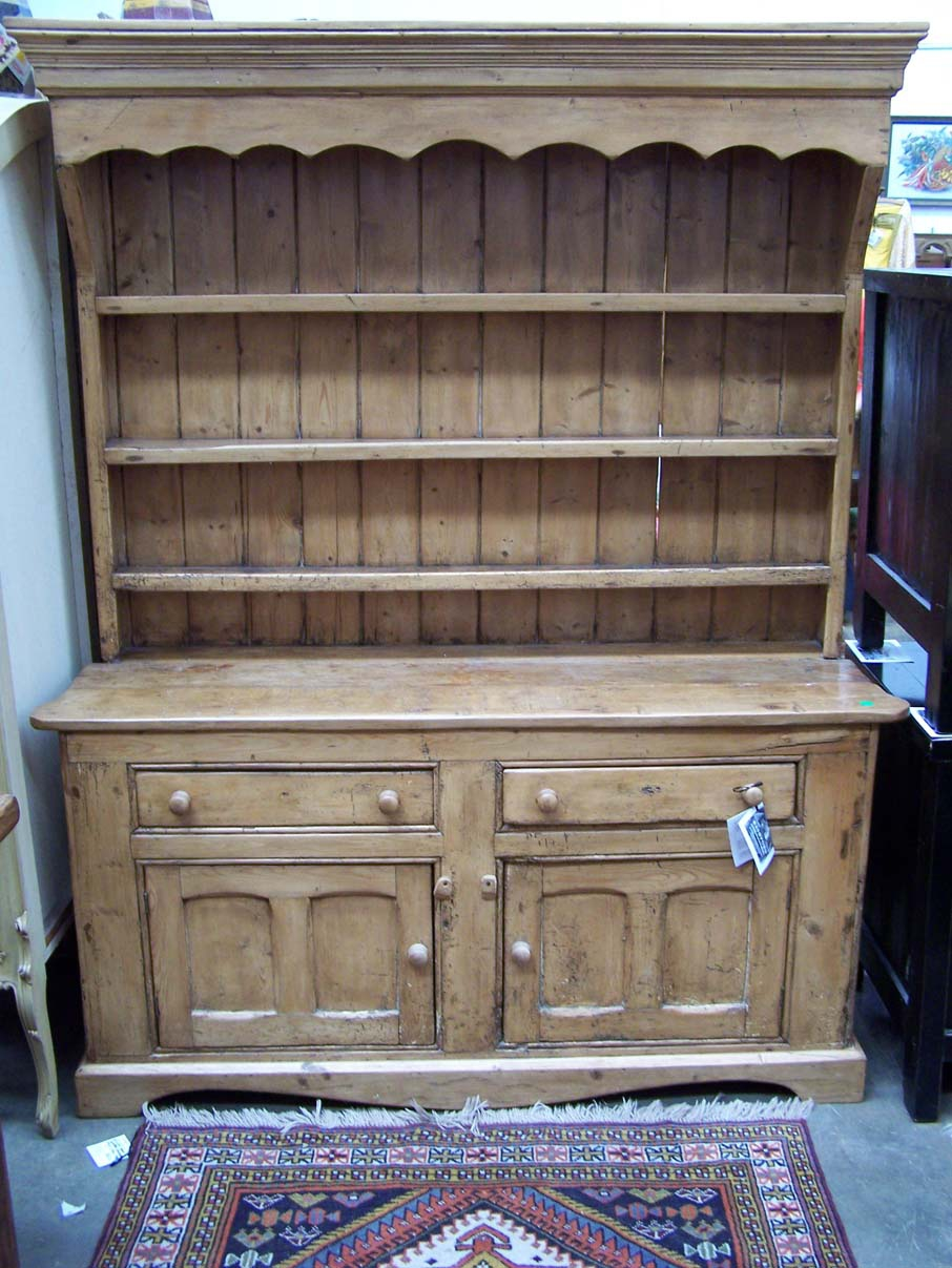 Victorian Baltic Pine Welsh Dresser at Bashford Antiques