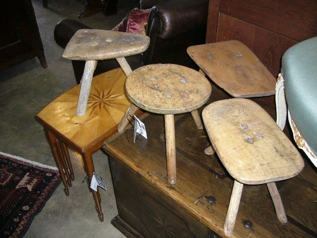 Groovy Spanish Milking Stools At Bashford Antiques Pabps2019 Chair Design Images Pabps2019Com